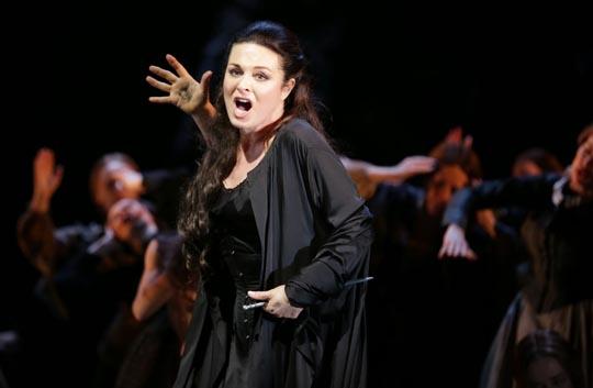 Cassandre (Anna-Caterina Antonacci) © Brescia/Amisano Teatro alla Scala