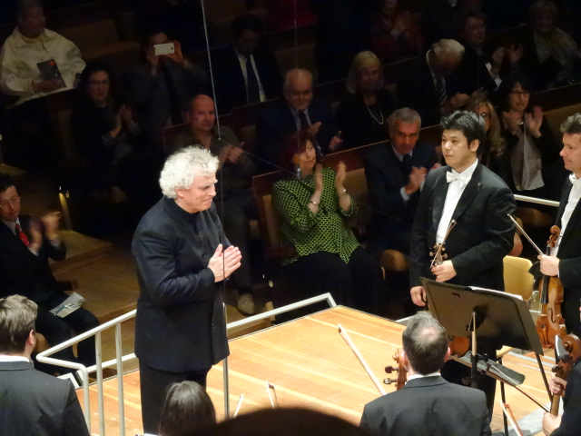 Sir Simon Rattle le 16 mai 2014