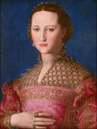 Portrait d'Éléonore de Tolède de Bronzino